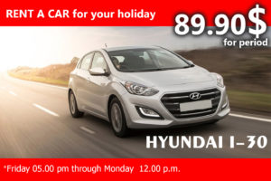 HYUNDAI I-30 (WEEKEND RATE)