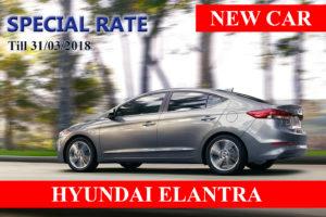 CAR RENTAL Hyuhdai Elantra