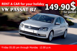 VW PASSAT (WEEKEND RATE)